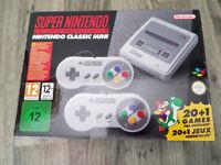 Brand New Never opened Super Nintendo Mini SNES Mini Console 2 controllers Xmas