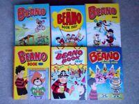 Beano Dandy Annuals 1980s, 1990s, 2006, 2008, Beano and Dandy Sixty Years 1999