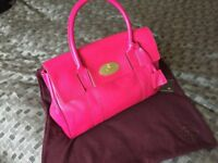 Mulberry Bayswater Pink Leather Handbag