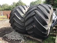 Good year Terra Tyres and Interchangeable centres 66 x 43.00 - 25 NHS