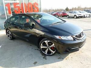 2014 Honda Civic Sedan Si VTEC NAVIGATION CAMERA RECUL/LATERAL