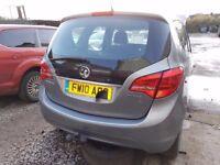 Vauxhall Meriva MK2 Drivers Rear Light Genuine 2010+