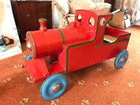 1950's Leeway Flyer Train Childs Pedal Car. Completely Original. Classic. Vintage. FREE DELIVERY