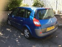 2005 RENAULT GRAND SCENIC AUTOMATIC 7 SEATER NEW CAM BELT