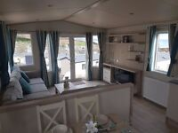 luxury 2 bed static caravan at Ladram Bay Devon