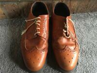 Dr martin's men's brogues shoes size 9 used brown colour good condition ;£20