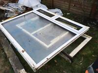 """UPVC Double glazed window unit 6'4"""" x 5'1"""