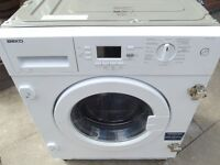 *SALE* BEKO 7KG INTEGRATED WASHING MACHINE FULLY REFURBISHED COMES WITH 3 MONTHS WARRANTY