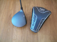 MENS BRAND NEW LYNX PARALLAX ADJUSTABLE DRIVER + HEADCOVER