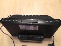 Sony docking station radio alarm clock
