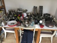 A variety of brand new kitchen items - Each item sold separately unless stated otherwise