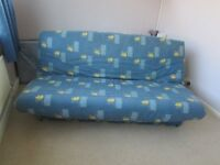 'click clack' sofa bed with 2nd mattress