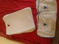 Baby changing mat - ikea Gullunge - used