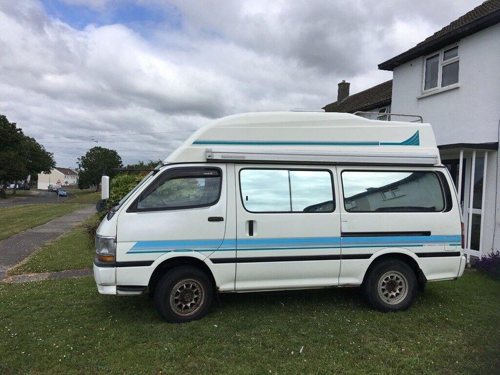 Toyota hiace 4x4 camper van  Full 12 months MOT  | in Newquay, Cornwall |  Gumtree