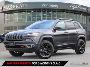 2017 Jeep Cherokee TRAILHAWK: ACCIDENT FREE, FULL LOAD