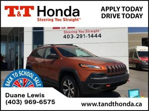 2015 Jeep Cherokee Trailhawk *Local Car, NAVI, Rear Camera