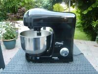 Food Mixer 3 Attachments Cooks Professional Stand Mixer Black Very Good Condition
