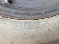 Isuzu dmax spare wheel
