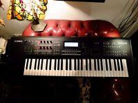 Yamaha MOX6 Keyboard Synthesizer Music Production Workstation