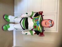 UK SELLER look alike brand new Buzz Lightyear deluxe Mascot Costume fancy dress