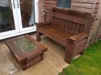 Sleeper table & bench