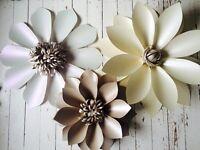 For sale beautiful paper floral arrangement. .