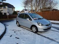 HONDA JAZZ 1.4 SE IN GOOD CONDITION 105K FSH 6 MONTHS MOT DRIVES GREAT TRADE IN TO CLEAR