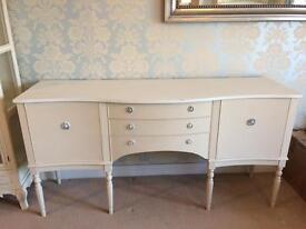 Shabby chic large sideboard with storage