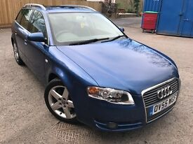 A4 avant 2.0 turbo fsi se, what a lovely powerful car for the year, must be seen