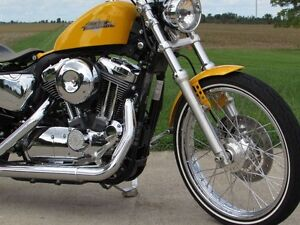 2013 harley-davidson XL1200V Seventy-Two   Chrome Yellow Pearl & London Ontario image 18