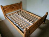 Mexican Pine Kingsize bed