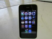 Apple iPhone 3GS - 8 GB - Smartphone LOCKED TO O2 NETWORK FWO £20