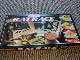 Ratrace board game - vintage game