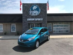 2015 Nissan Versa Note S  LOW KM FUEL SAVER! FINANCING AVAILABLE