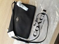 Genuine COACH crossbody real leather bag new with tags