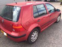 2002 VW Golf 1.6 Petrol Manual
