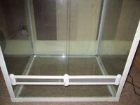 Lucky reptile swing terrarium white 60x50x60