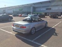 BMW 330ci Convertible Manual M Sport Silver 2004 Facelift Excellent Condition