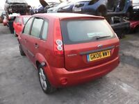 2006 FORD FIESTA ZETEC CLIMATE 16V (MANUAL PETROL)(FOR PARTS ONLY)