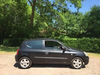 Renault Clio 1.2 dynamique 55 reg power steering CD player mot December 2017 low insurance 48+ mpg