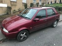 Ford fiesta zetec 1.25 zetec petrol v reg 2000! NO MOT OR TAX! Good runner! Alloy wheels! £150!!!