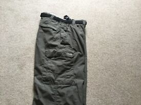 Men's/Women's Craghoppers Khaki solar dry sun protective outdoor trousers