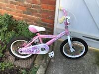 "Girls 16"" wheels bike Avigo Orchid"
