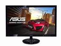 ***TOP SELLER**ASUS VS248HR 24 inch LED Gaming Monitor - Full HD 1080p HDMI 1 ms FAST BLACK