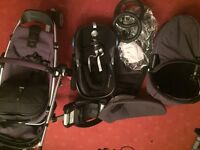 Quinny Buzz Travel System Package Rocking Black