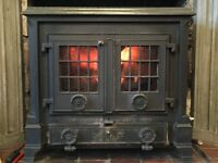 Classic Coalbrookedale Darby 20kW Multifuel Stove with Boiler