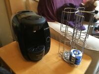 Bosch Tassimo Coffee Machine with Rotating Pod Stand