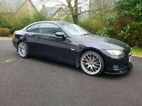 Bmw e92 320d coupe red leather kitted