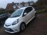 Toyota aygo white. 1 owner from new! 45000 miles
