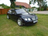 Luxury 2005 (55) Bentley Flying Spur Continental in dark metallic sapphire blue - 62,829 miles
